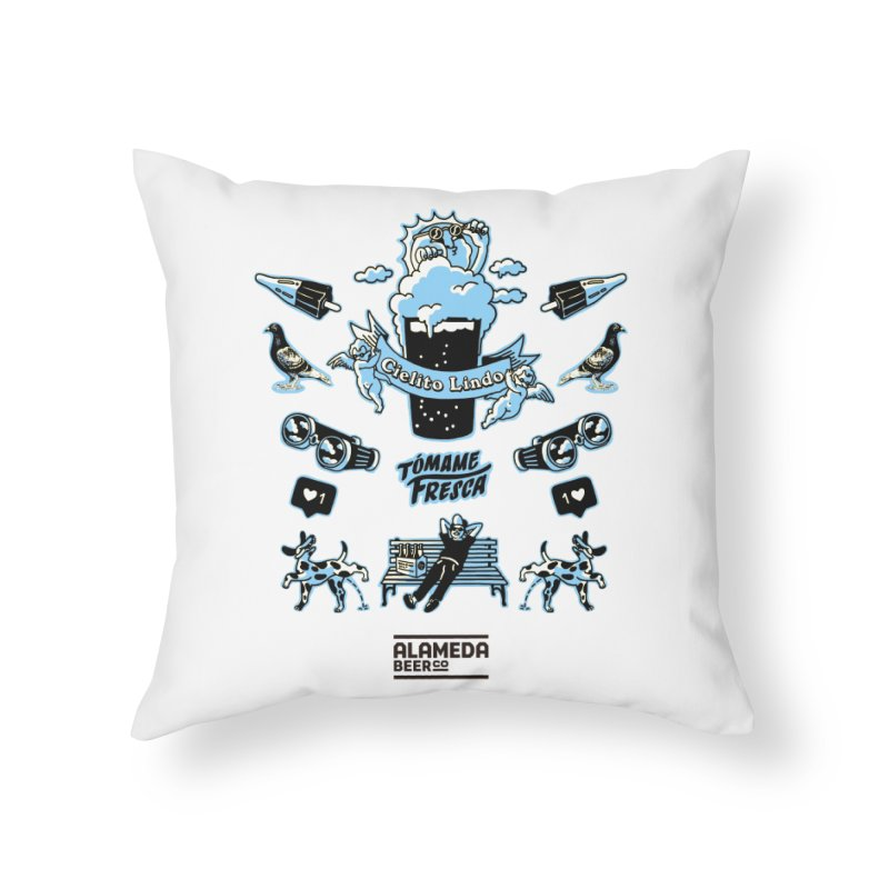 alameda Home Throw Pillow by PEIPER's Artist Shop