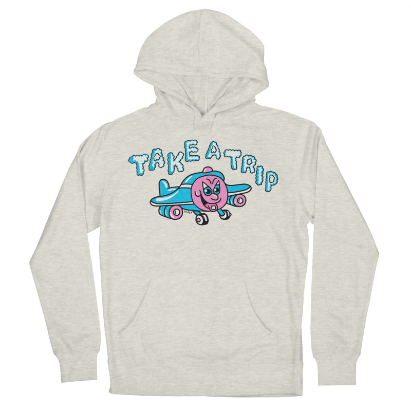 take a trip Men's French Terry Pullover Hoody by PEIPER's Artist Shop