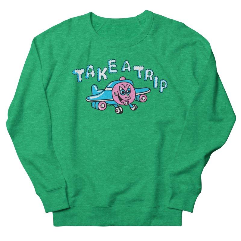 take a trip Women's French Terry Sweatshirt by PEIPER's Artist Shop