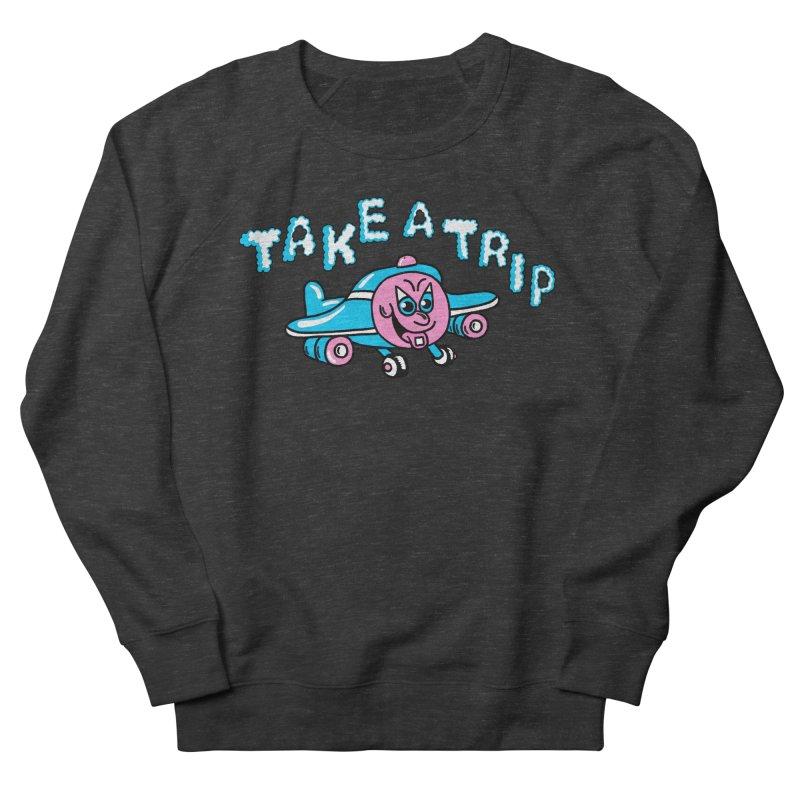 take a trip Men's French Terry Sweatshirt by PEIPER's Artist Shop