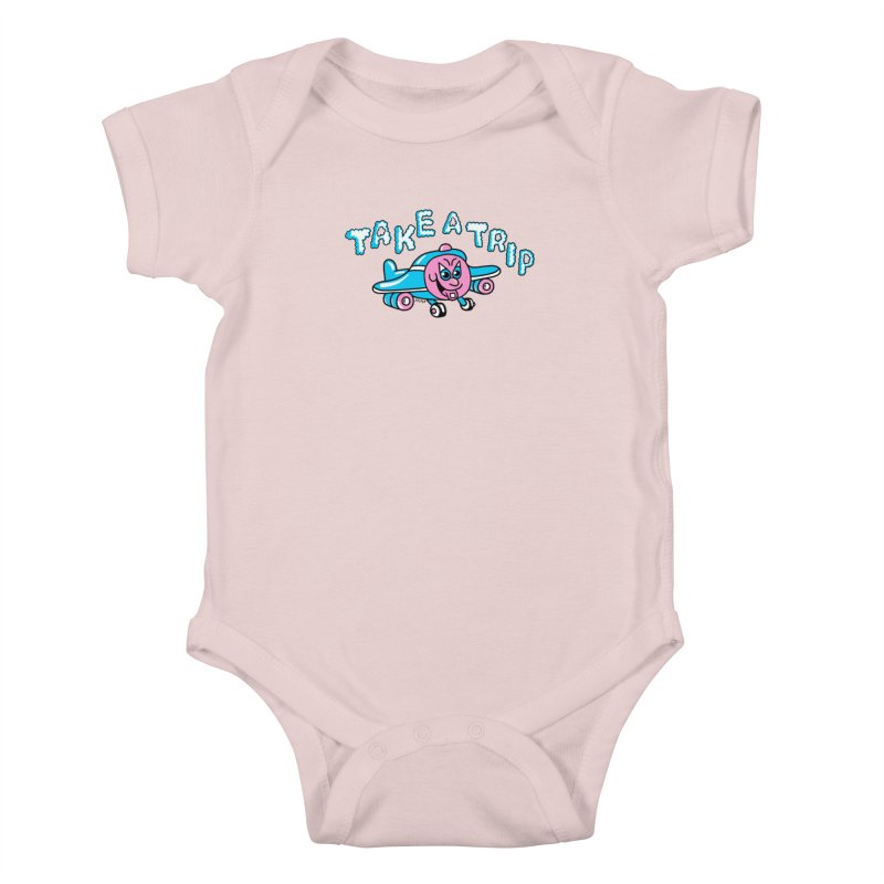 take a trip Kids Baby Bodysuit by PEIPER's Artist Shop
