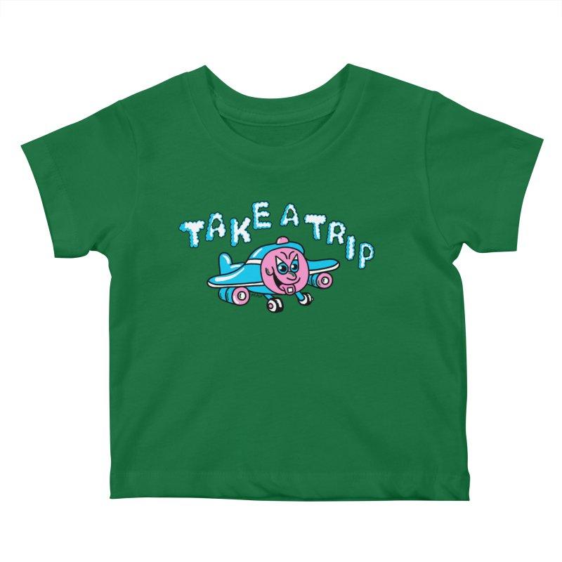 take a trip Kids Baby T-Shirt by PEIPER's Artist Shop