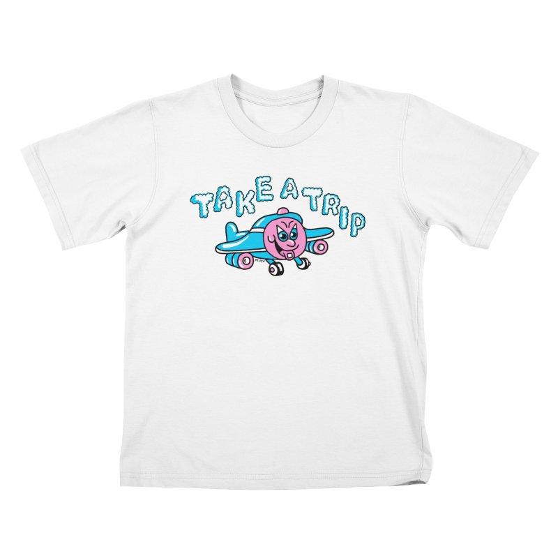 take a trip Kids T-Shirt by PEIPER's Artist Shop