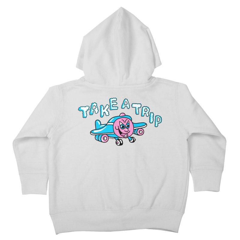 take a trip Kids Toddler Zip-Up Hoody by PEIPER's Artist Shop