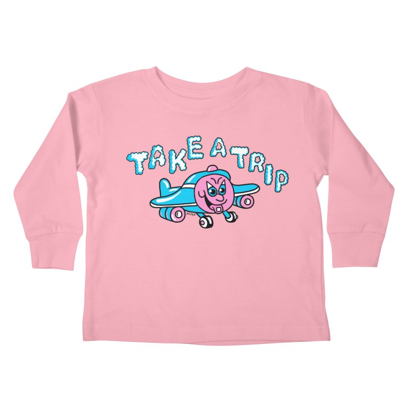 take a trip Kids Toddler Longsleeve T-Shirt by PEIPER's Artist Shop