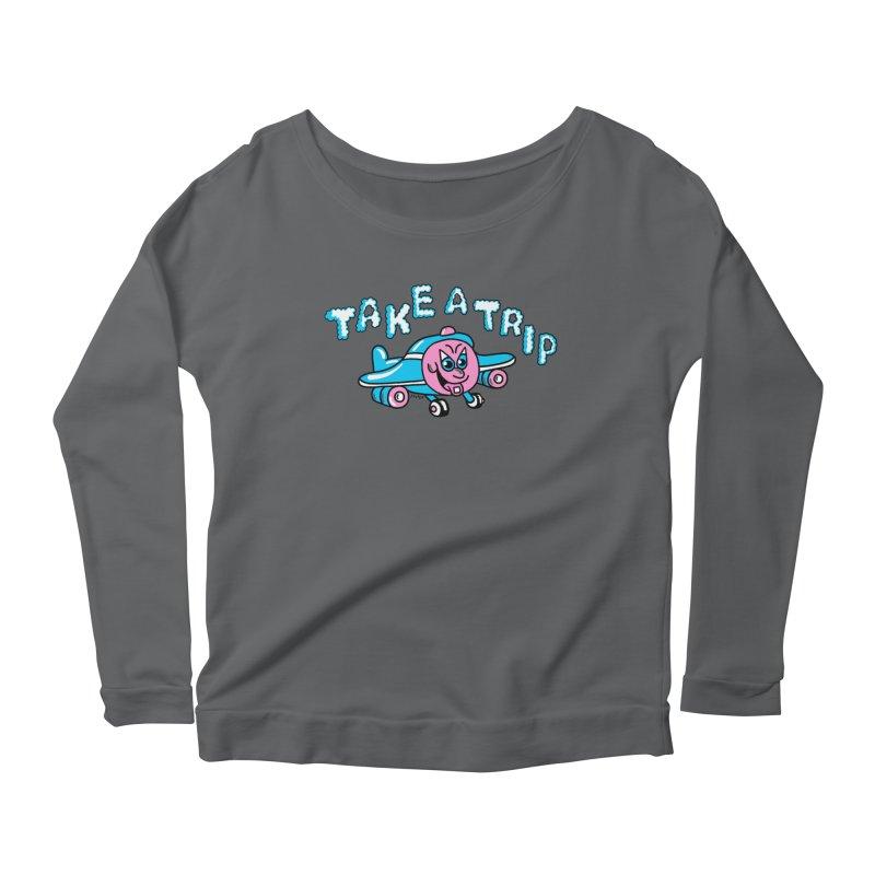take a trip Women's Scoop Neck Longsleeve T-Shirt by PEIPER's Artist Shop