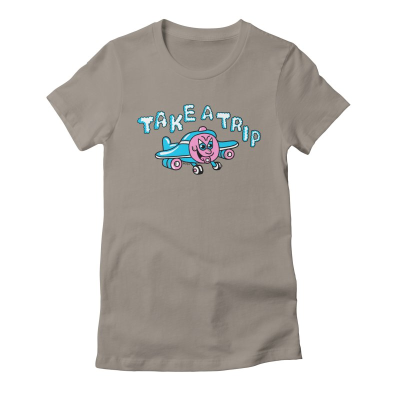 take a trip Women's Fitted T-Shirt by PEIPER's Artist Shop
