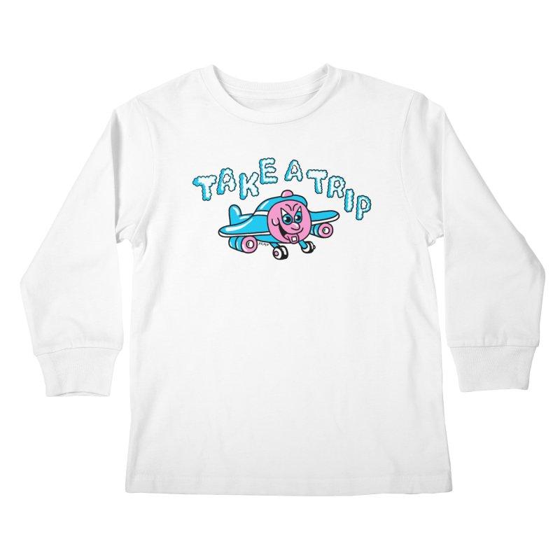 take a trip Kids Longsleeve T-Shirt by PEIPER's Artist Shop