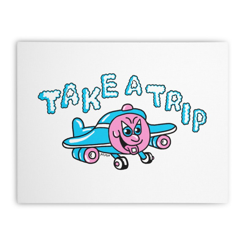 take a trip Home Stretched Canvas by PEIPER's Artist Shop