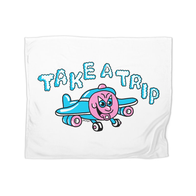 take a trip Home Fleece Blanket Blanket by PEIPER's Artist Shop