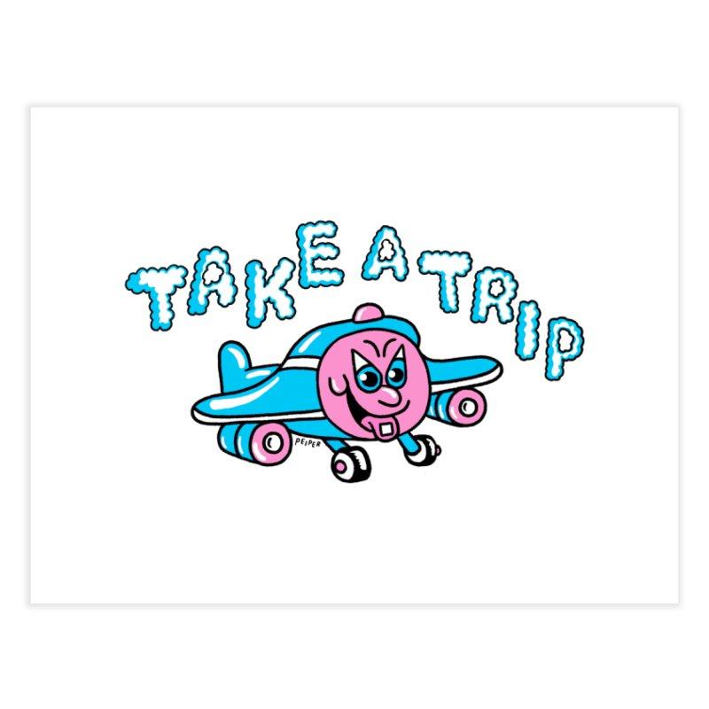 take a trip Home Fine Art Print by PEIPER's Artist Shop