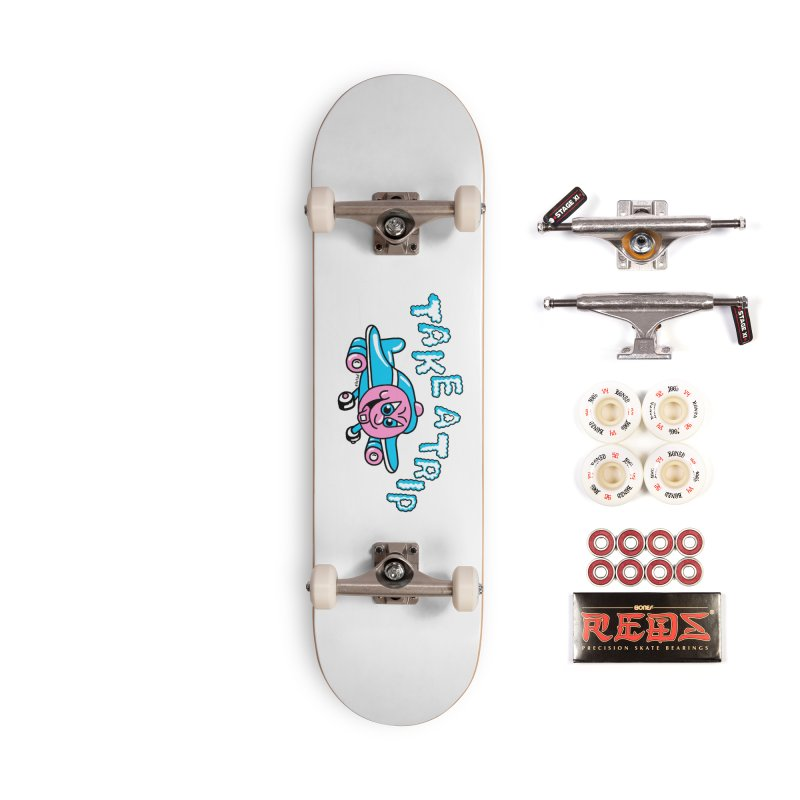 take a trip Accessories Complete - Pro Skateboard by PEIPER's Artist Shop