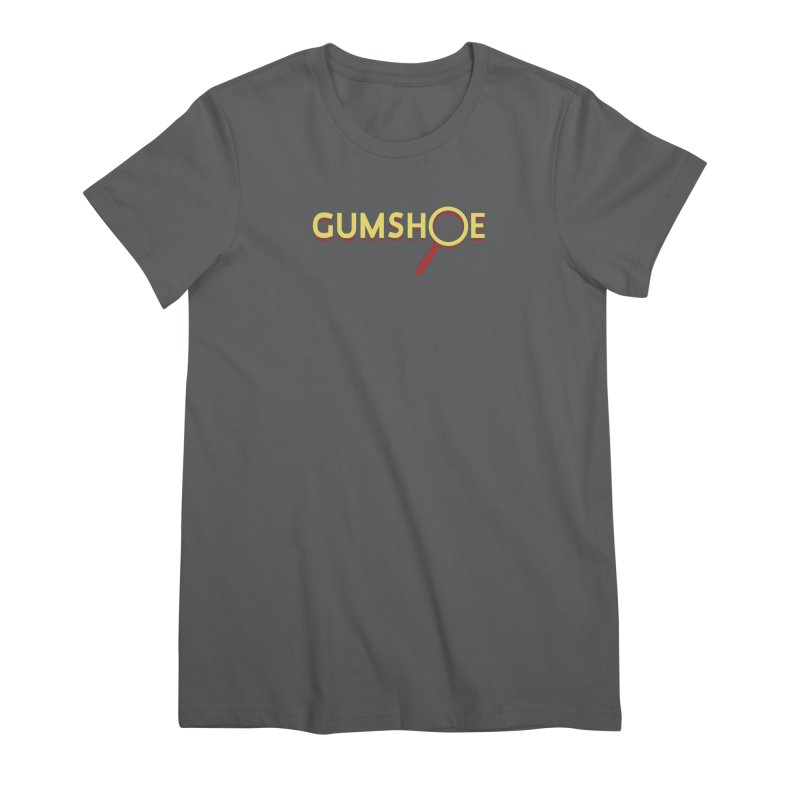 Gumshoe Logo Women's Premium T-Shirt by pelgrane's Artist Shop