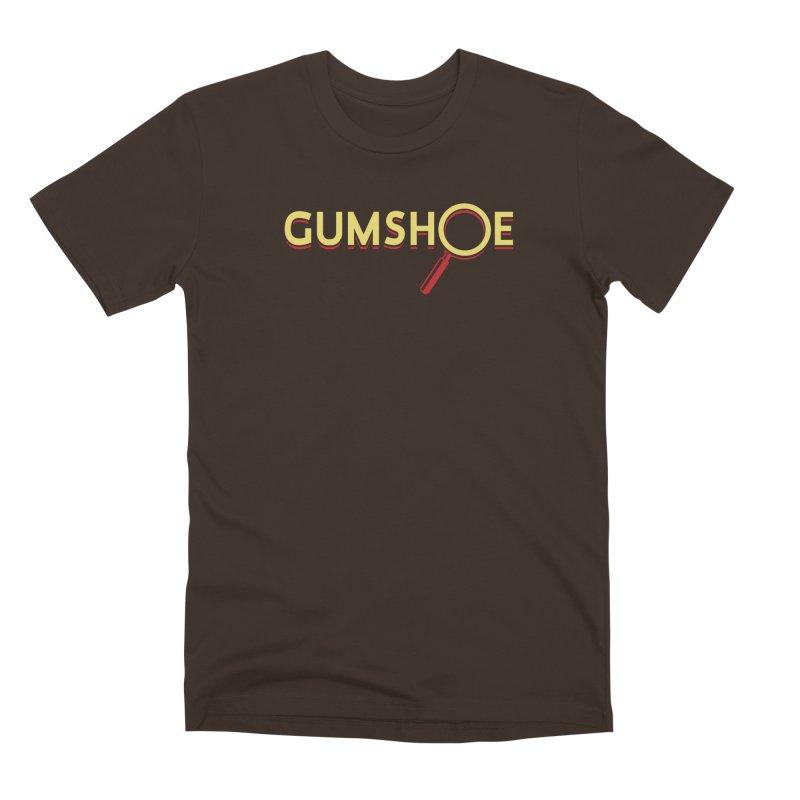 Gumshoe Logo Men's Premium T-Shirt by pelgrane's Artist Shop