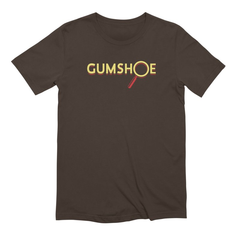 Gumshoe Logo Men's Extra Soft T-Shirt by pelgrane's Artist Shop