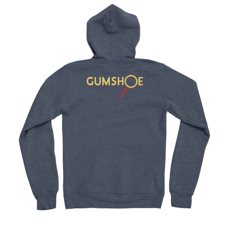 Gumshoe Logo Women's Sponge Fleece Zip-Up Hoody by pelgrane's Artist Shop