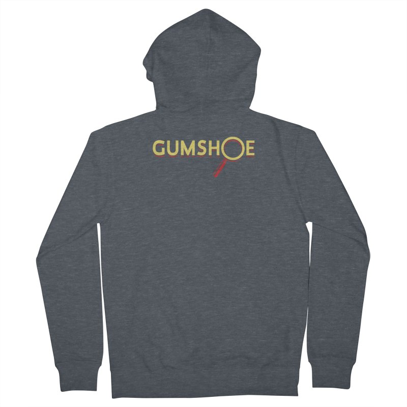 Gumshoe Logo Women's French Terry Zip-Up Hoody by pelgrane's Artist Shop
