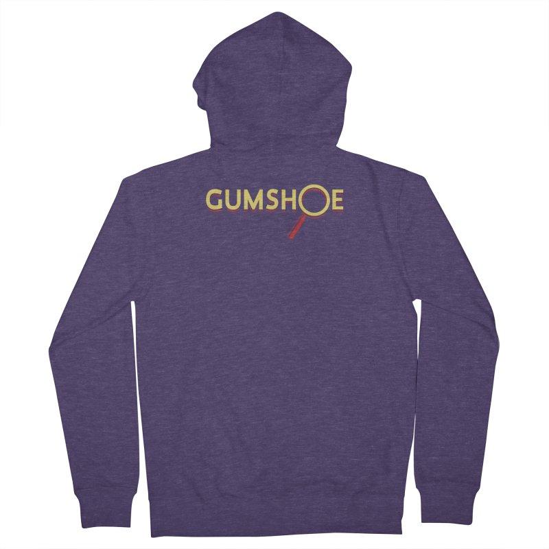 Gumshoe Logo Men's French Terry Zip-Up Hoody by pelgrane's Artist Shop