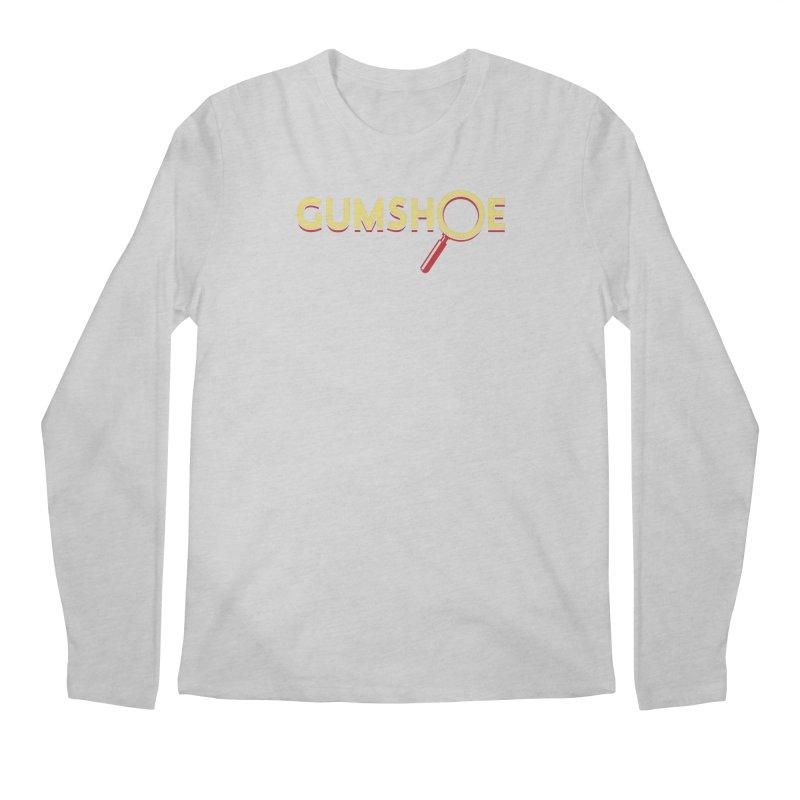 Gumshoe Logo Men's Regular Longsleeve T-Shirt by pelgrane's Artist Shop