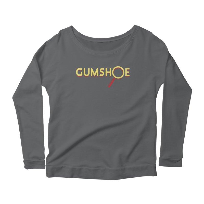 Gumshoe Logo Women's Scoop Neck Longsleeve T-Shirt by pelgrane's Artist Shop