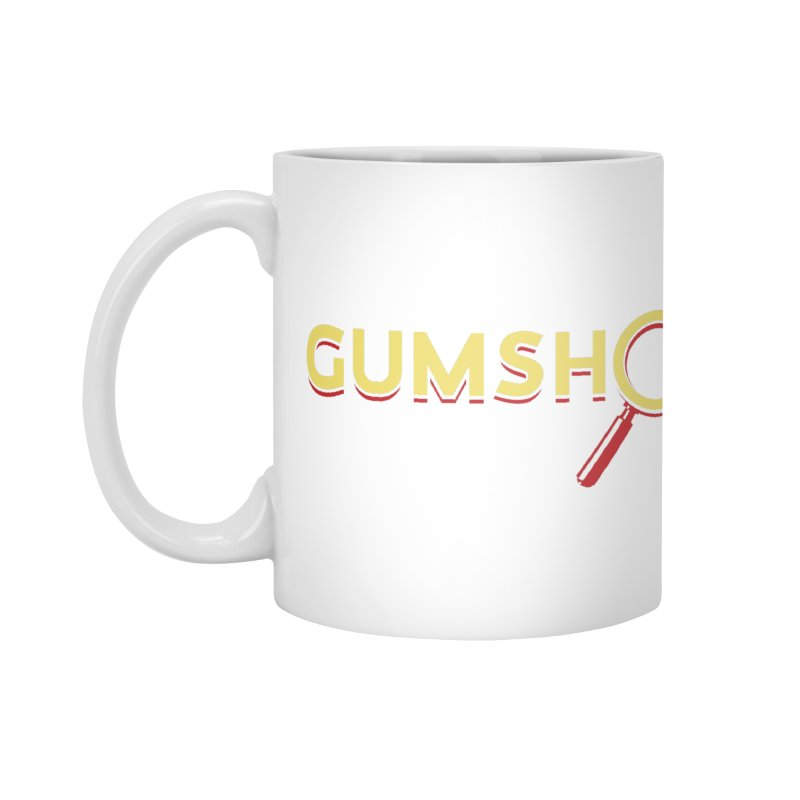 Gumshoe Logo Accessories Mug by Pelgrane's Artist Shop