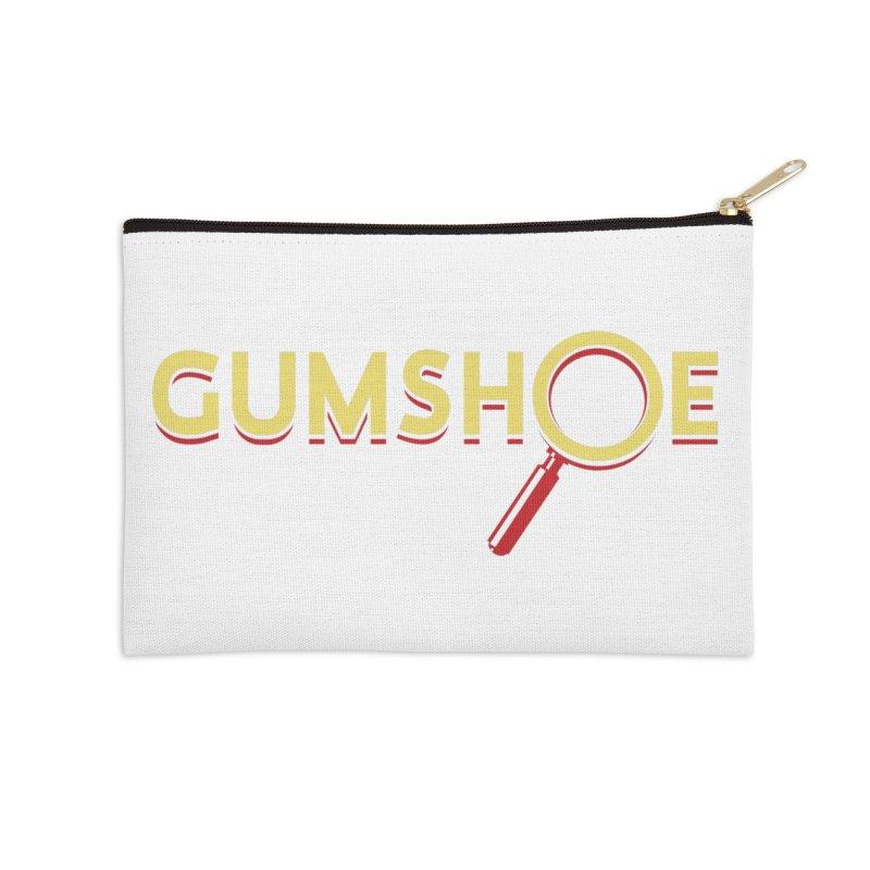 Gumshoe Logo Accessories Zip Pouch by Pelgrane's Artist Shop