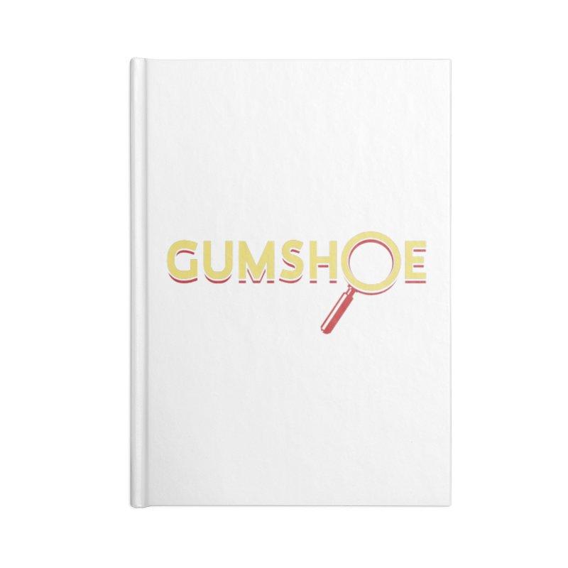 Gumshoe Logo Accessories Notebook by pelgrane's Artist Shop