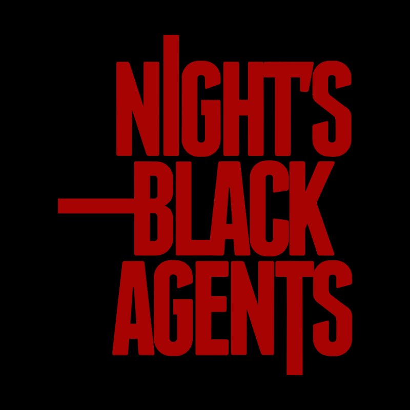 Night's Black Agents (Red) Men's Longsleeve T-Shirt by Pelgrane's Artist Shop