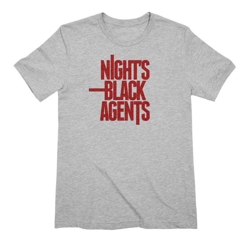 Night's Black Agents (Red) Men's T-Shirt by Pelgrane's Artist Shop