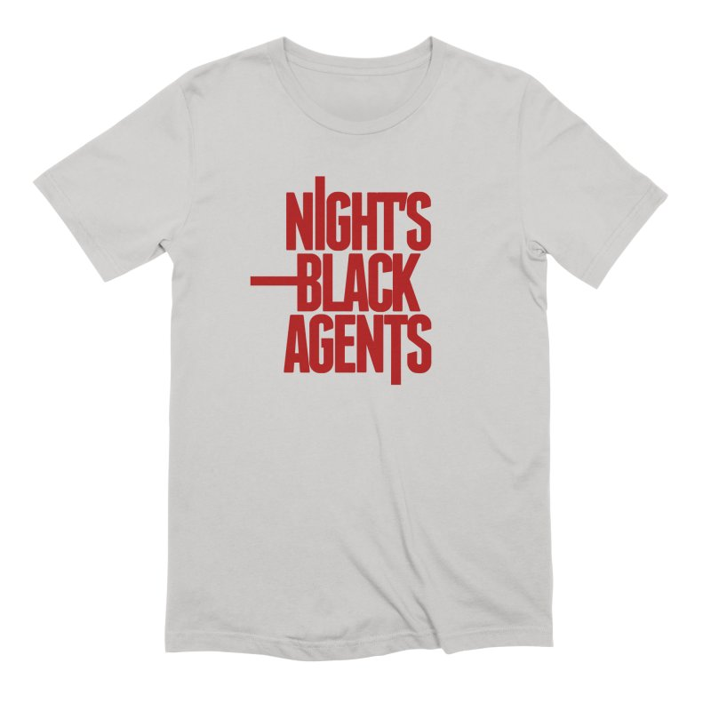 Night's Black Agents (Red) Men's Extra Soft T-Shirt by pelgrane's Artist Shop