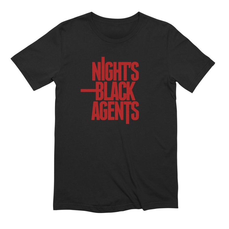 Night's Black Agents (Red) Men's T-Shirt by pelgrane's Artist Shop