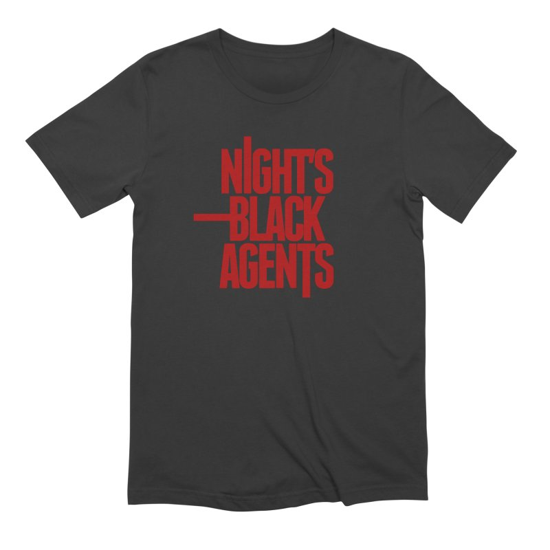 Night's Black Agents (Red) in Men's Extra Soft T-Shirt Smoke by pelgrane's Artist Shop