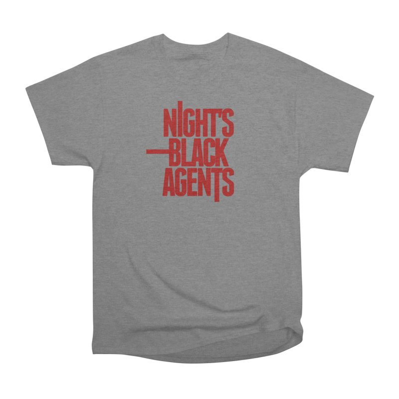 Night's Black Agents (Red) Women's Heavyweight Unisex T-Shirt by pelgrane's Artist Shop