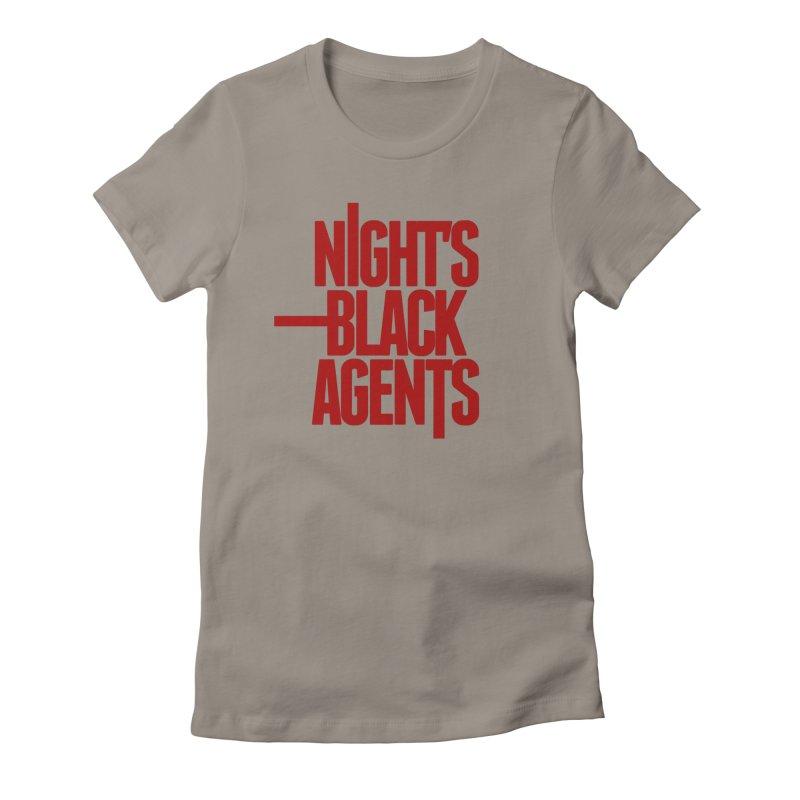 Night's Black Agents (Red) Women's T-Shirt by Pelgrane's Artist Shop