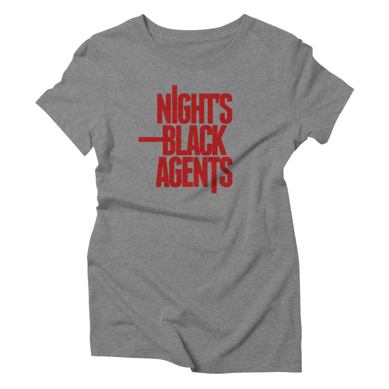 Night's Black Agents (Red) Women's Triblend T-Shirt by pelgrane's Artist Shop