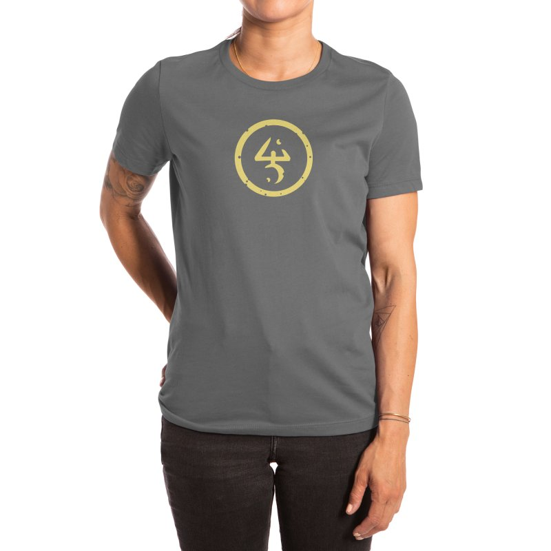 Yellow Sign (in Yellow) Women's T-Shirt by pelgrane's Artist Shop