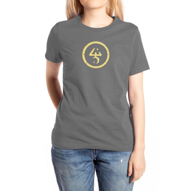 Yellow Sign (in Yellow) Women's T-Shirt by Pelgrane's Artist Shop