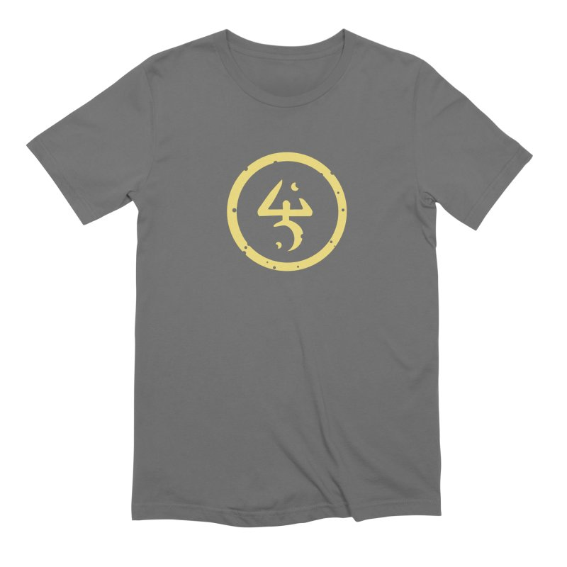 Yellow Sign (in Yellow) Men's T-Shirt by pelgrane's Artist Shop
