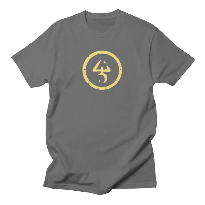 Yellow Sign (in Yellow) Men's T-Shirt by Pelgrane's Artist Shop