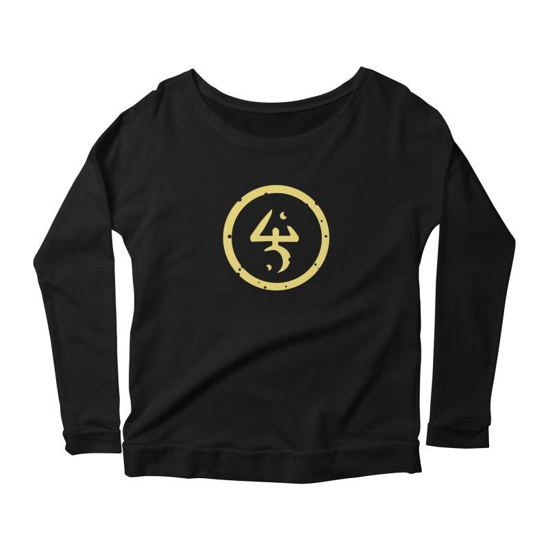 Yellow Sign (in Yellow) Women's Scoop Neck Longsleeve T-Shirt by pelgrane's Artist Shop