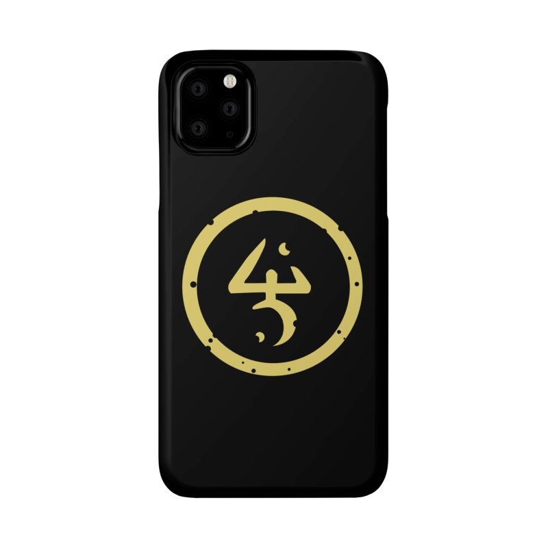 Yellow Sign (in Yellow) Accessories Phone Case by pelgrane's Artist Shop