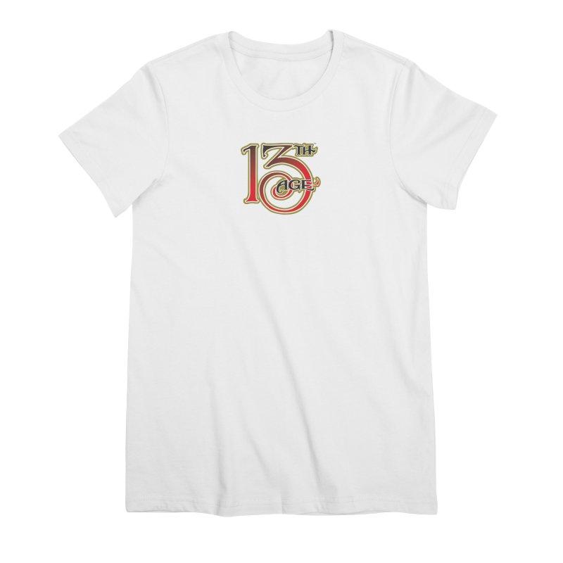 13th Age Logo Women's Premium T-Shirt by pelgrane's Artist Shop
