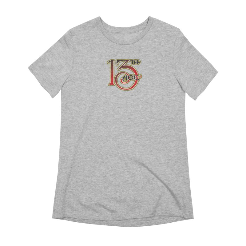 13th Age Logo Women's Extra Soft T-Shirt by pelgrane's Artist Shop