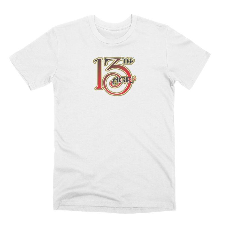 13th Age Logo Men's Premium T-Shirt by pelgrane's Artist Shop