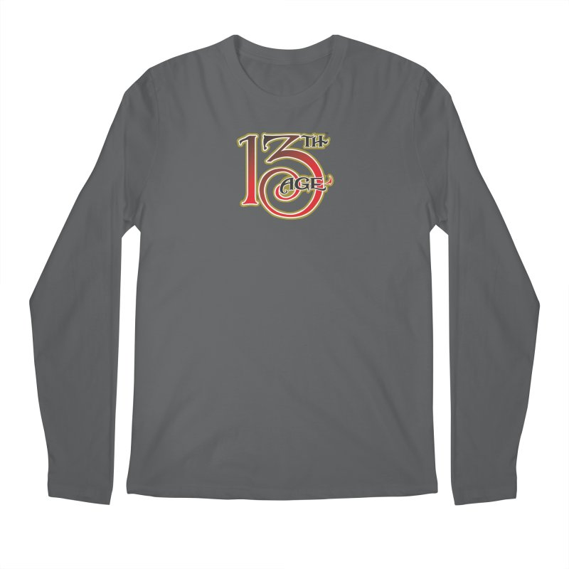 13th Age Logo Men's Longsleeve T-Shirt by pelgrane's Artist Shop