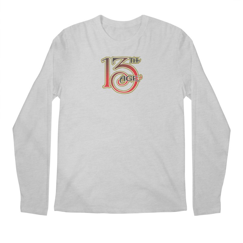 13th Age Logo Men's Regular Longsleeve T-Shirt by pelgrane's Artist Shop