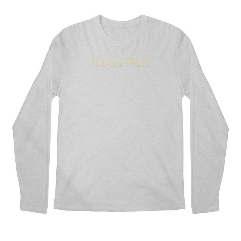 Hillfolk Logo Men's Regular Longsleeve T-Shirt by pelgrane's Artist Shop