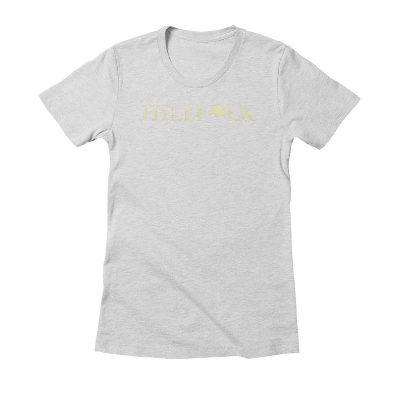 Hillfolk Logo Women's Fitted T-Shirt by pelgrane's Artist Shop
