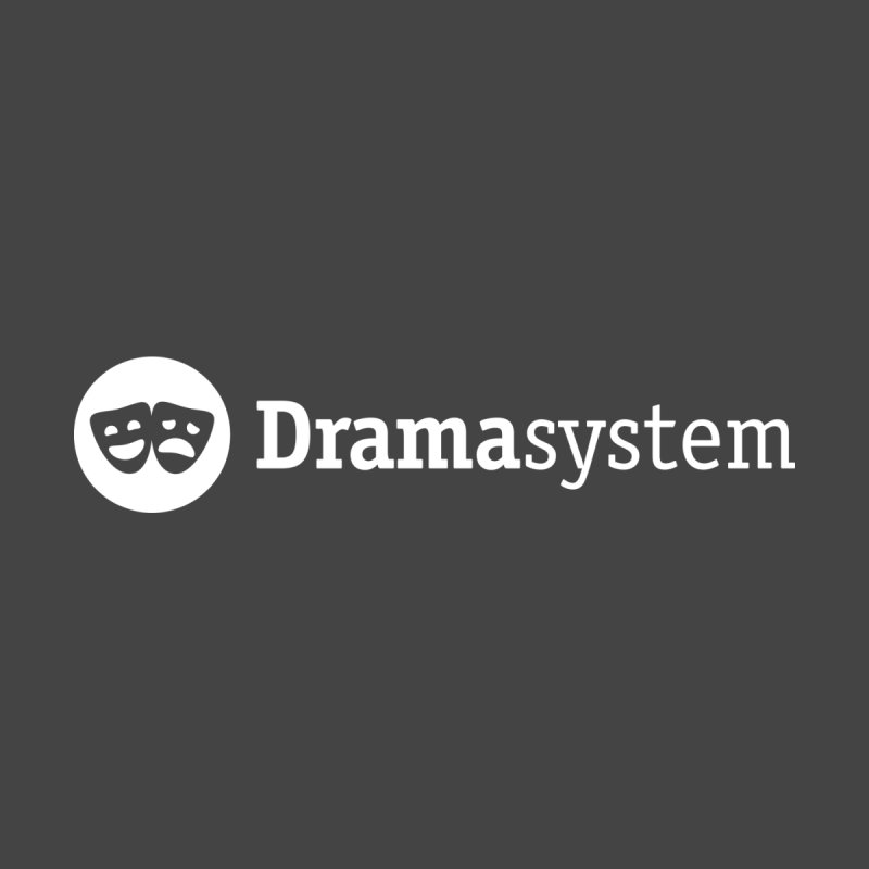 DramaSystem Logo Men's T-Shirt by pelgrane's Artist Shop