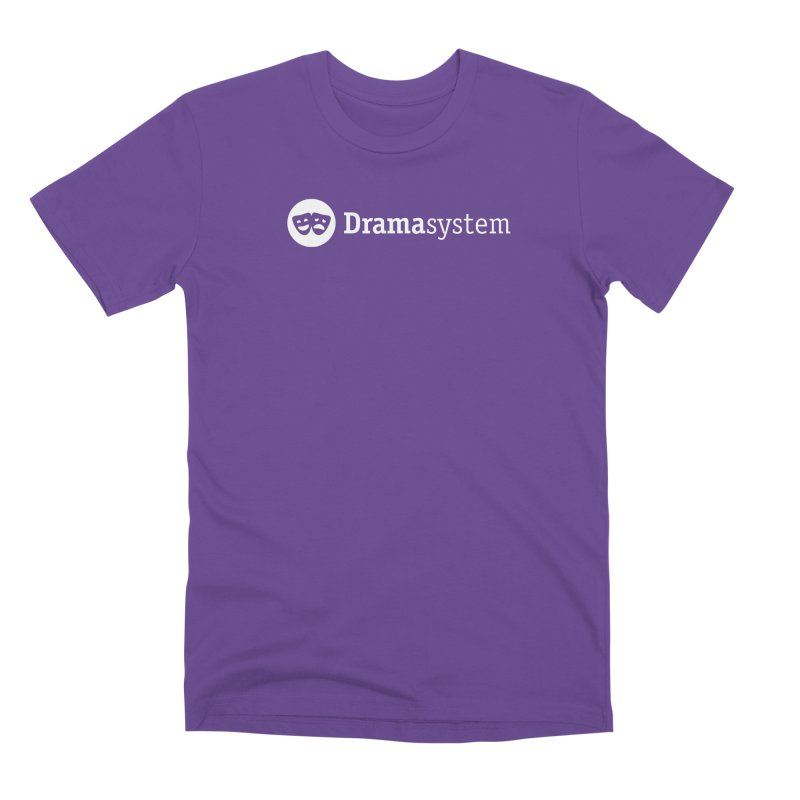 DramaSystem Logo Men's Premium T-Shirt by pelgrane's Artist Shop